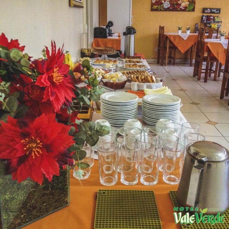 Café da Manhã Hotel Vale Verde